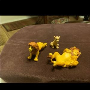 Disney Lion King book and figures